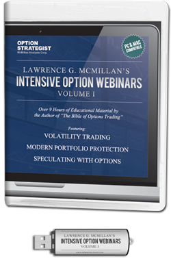 Intensive Option Webinars: Volume 1