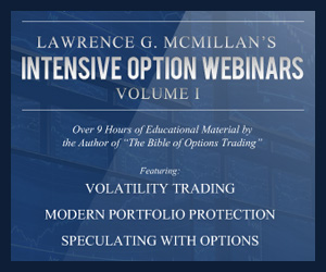 McMillan's Intensive Option Webinars Vol 1
