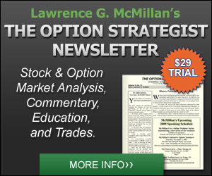 The Option Strategist 3 Month Trial