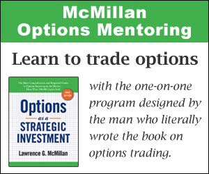 McMillan Options Mentoring